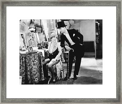 The Broadway Melody, From Left Bessie Framed Print by Everett