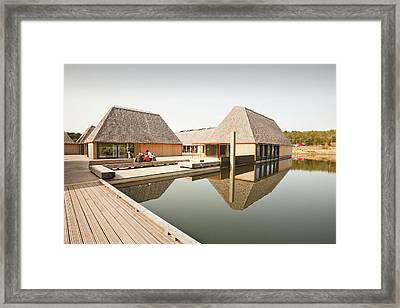 The Brockholes Visitor Centre Framed Print by Ashley Cooper