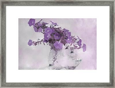 The Broken Branch - Digital Watercolor Framed Print by Sandra Foster