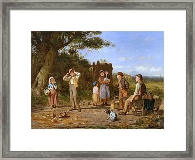 The Broken Jar Framed Print by J O Banks