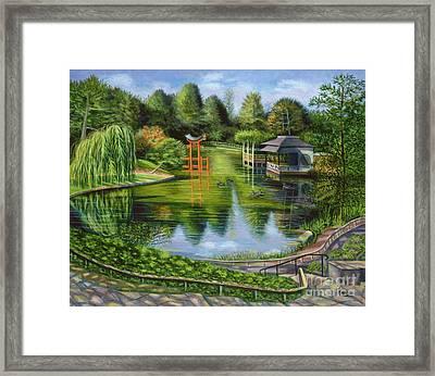 The Brooklyn Botanic Garden Framed Print