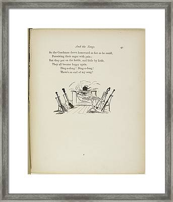 The Broom Framed Print by British Library