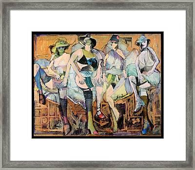 The Brothel Framed Print by John Andro Avendano