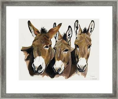 The Brothers Three Framed Print