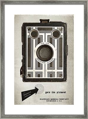 The Brownie Junior Six-20 Camera Framed Print