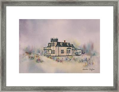 The Brown's Residence Framed Print