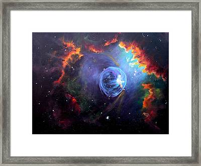 The Bubble Framed Print by Marie Green