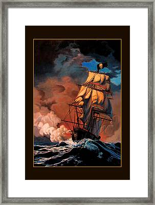 The Buccaneers Framed Print by Patrick Whelan