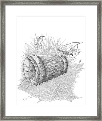 The Bucket Framed Print