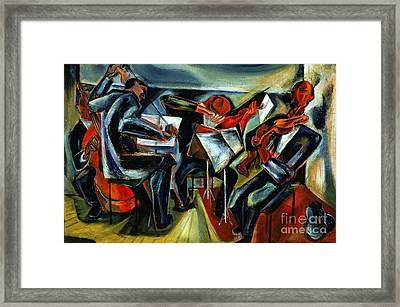 The Budapest String Quartet Framed Print by Pg Reproductions