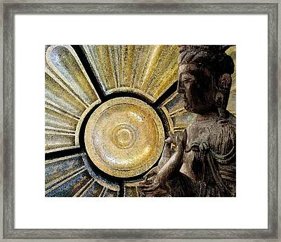 the Buddha  c2014  Paul Ashby Framed Print