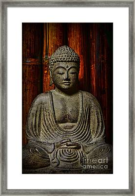 The Buddha Framed Print by Paul Ward