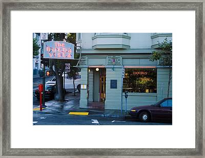 The Buena Vista Framed Print