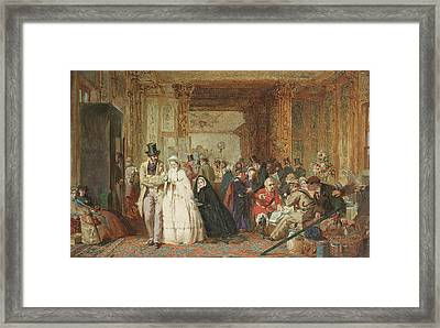 The Buffet Swindon Station Framed Print by George Elgar Hicks
