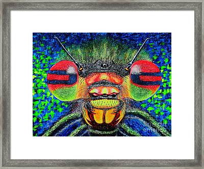 The Bug Framed Print by Viktor Lazarev