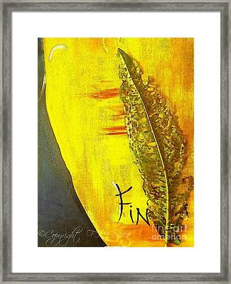 The Bugs Got To It First Framed Print by PainterArtist FIN