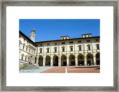 The Building Of Fraternita Dei Laici Framed Print