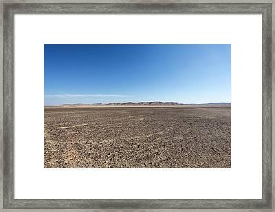 The Bulbus Rock Field At Mount Zin Framed Print