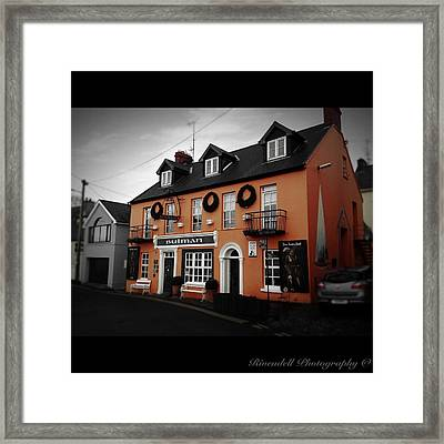The Bulman Kinsale Framed Print by Maeve O Connell
