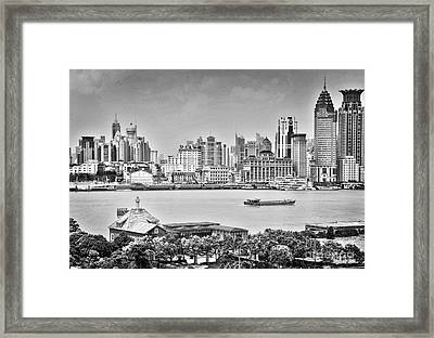 The Bund Framed Print by Delphimages Photo Creations