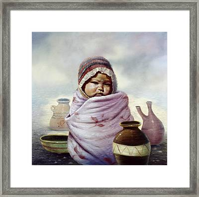 The Bundle Framed Print by Gregory Perillo