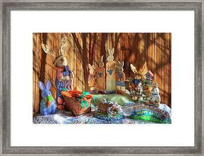 The Bunny Ranch Framed Print