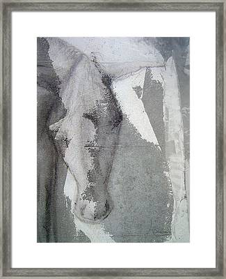 The Burden Framed Print