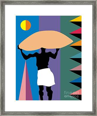 The Burden Framed Print by Walter Neal