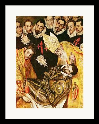 Saint Augustin Framed Prints