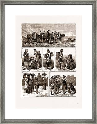 The Burmese Frontier Difficulty Framed Print by Litz Collection