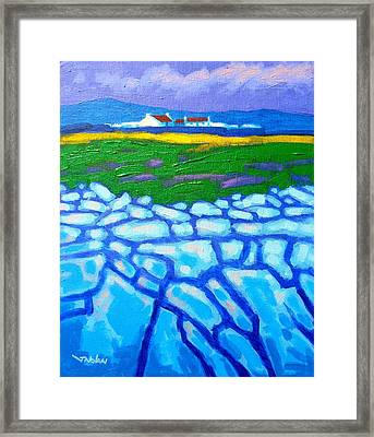 The Burren County Clare Ireland Framed Print by John  Nolan