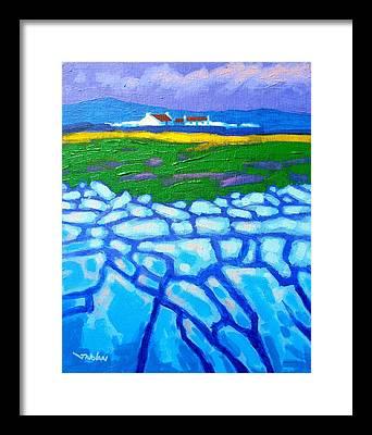 Burren Framed Prints