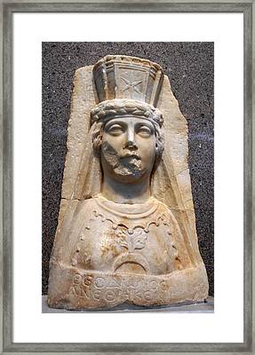 The Bust Of Aphrodite Framed Print by Tracey Harrington-Simpson