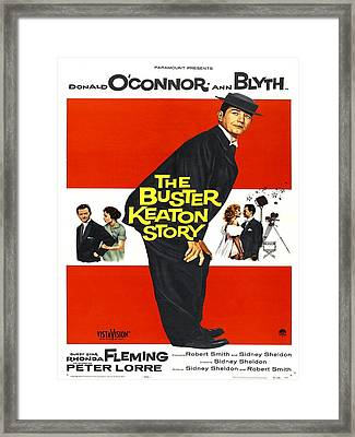 The Buster Keaton Story, Us Poster Framed Print by Everett