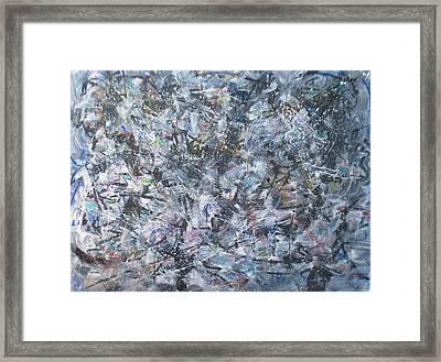 The Busy World Framed Print
