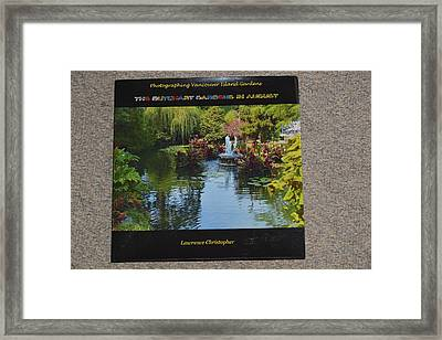 The Butchart Gardens - Photos By Lawrence Christopher Framed Print by Lawrence Christopher