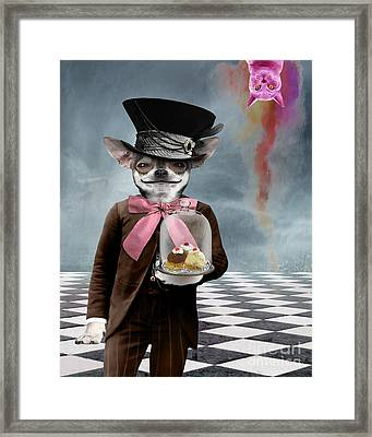 The Butler Framed Print by Juli Scalzi