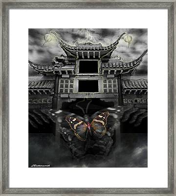 The Butterfly Effect Framed Print by Larry Butterworth