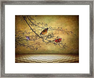 The Butterfly Room Framed Print by Jessica Jenney