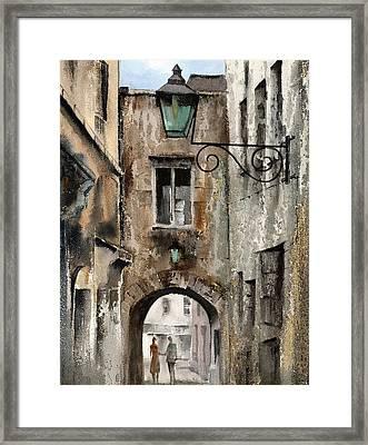 Kilkenny  The Butterslip   Framed Print