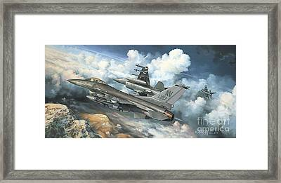 The Buzzard Boys From Aviano Framed Print by Randy Green