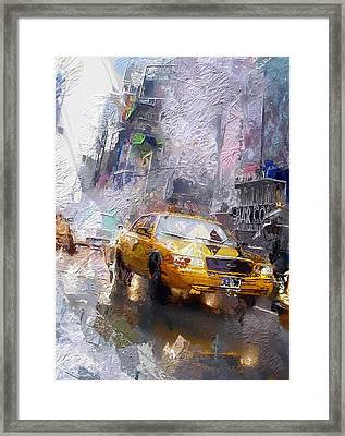 The Cab  Framed Print by Steve K