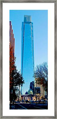 The Cable Building Framed Print