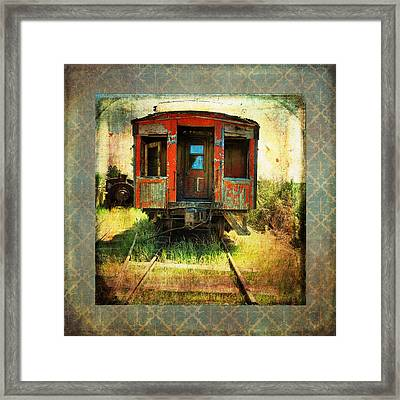 The Caboose Framed Print