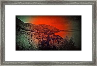 The Cabot Trail Framed Print by Jason Lees
