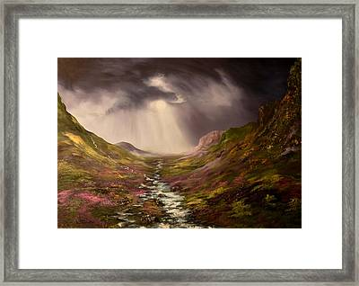 The Cairngorms In Scotland Framed Print