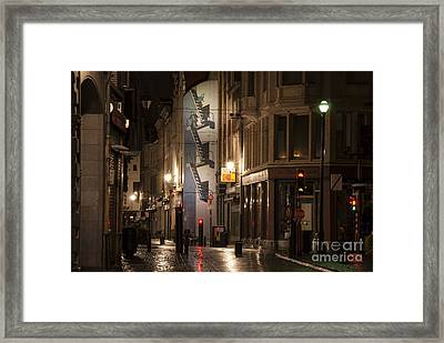 The Calculus Affair Framed Print by Juli Scalzi