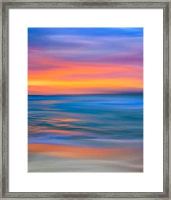The Call Of Distant Seas Framed Print by Mark E Tisdale