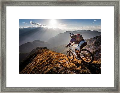 The Call Of The Mountain Framed Print