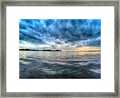 The Calm After The Storm Framed Print by Erik Kaplan